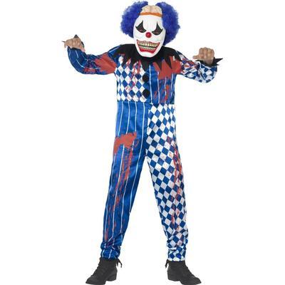 Smiffys Deluxe Sinister Clowndräkt 10-12 år