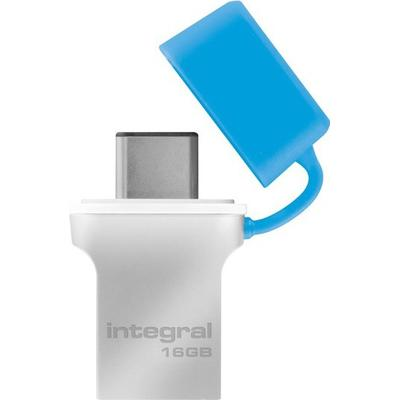 Integral Fusion 16GB USB 3.0 Type-A/Type-C