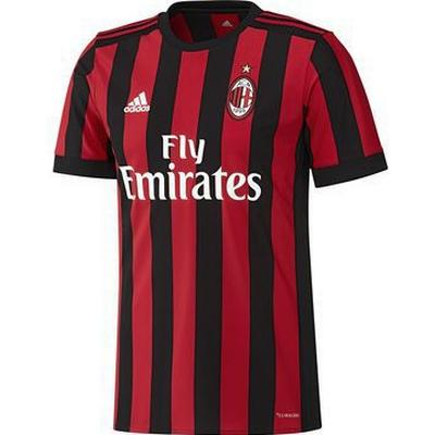 Adidas AC Milan Home Jersey 17/18 Youth