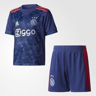 Adidas Ajax AFC Away Jersey Kit 17/18 Youth