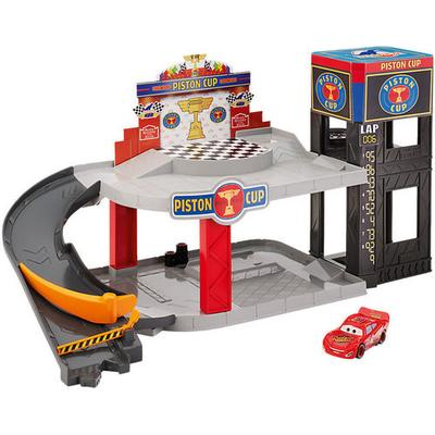 Mattel Disney Pixar Cars Piston Cup Racing Garage DWB90