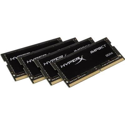 Kingston HyperX Impact Black DDR4 2400MHz 4x8GB (HX424S15IB2K4/32)