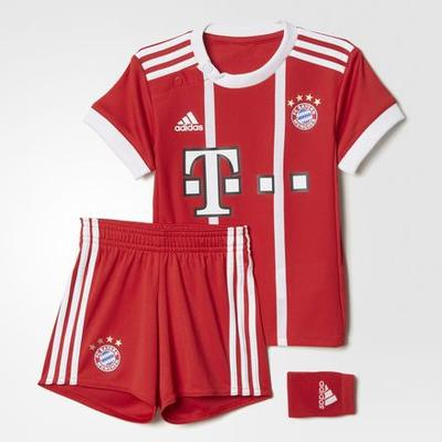 Adidas Bayern FC Munich Home Jersey Kit 17/18 Infant