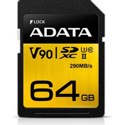 Adata Premier ONE V90 SDXC UHS-II U3 290MB/s 64GB