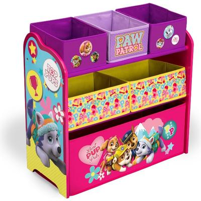 Delta Children Paw Patrol Skye & Everest Multi-Bin Toy Organizer