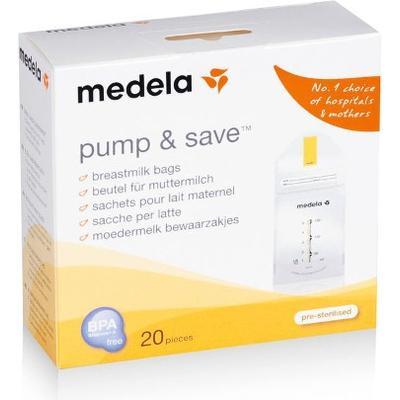 Medela Pump & Save Bags 20-pack