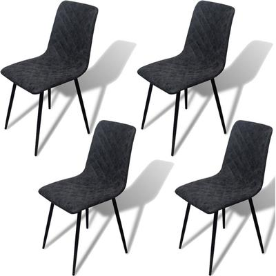 vidaXL 242759 4-Pack Dinning Chair