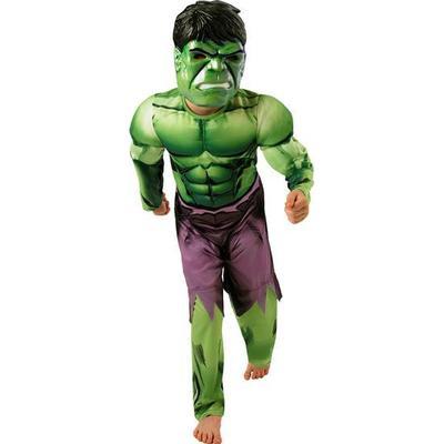 Rubies Hulk Deluxe Børnekostume