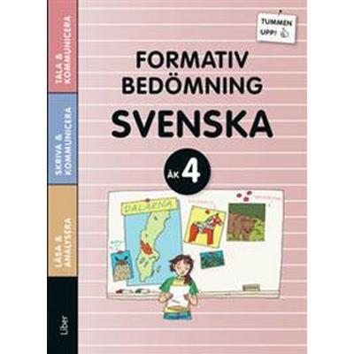 Tummen upp! Svenska Formativ bedömning åk 4 (Häftad, 2016)