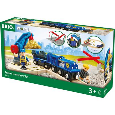 Brio Police Transport Set 33812