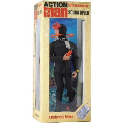Action Scuba Diver