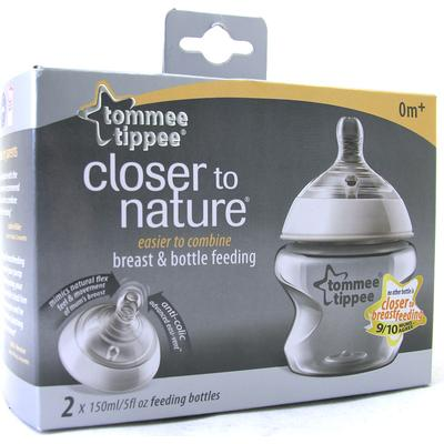 Tommee Tippee Closer to Nature Baby Bottle 150ml 2-pack