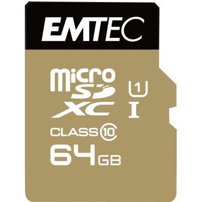 Emtec Gold+ MicroSDXC Class10 64GB