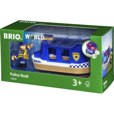 Brio Police Boat 33820