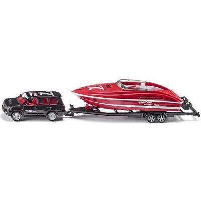 Siku Car with Motorboat 2543