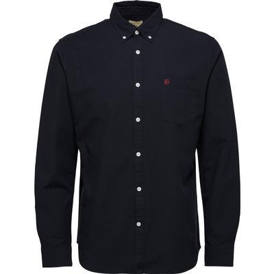 Selected Long Sleeved Shirt Black/Caviar (16040493)
