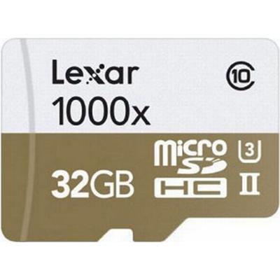 Lexar Media MicroSDXC Professional UHS-II U3 32GB (1000x)