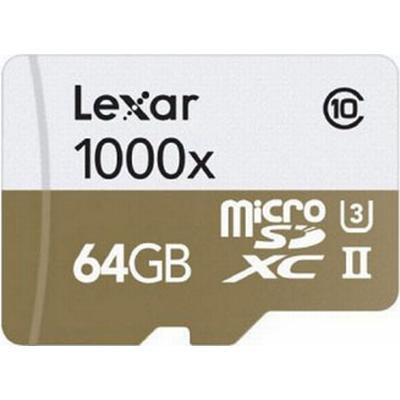 Lexar Media MicroSDXC Professional UHS-II U3 64GB (1000x)