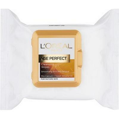 L'Oreal Paris Age Perfect Cleansing Wipes for Mature Skin 25-pack