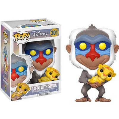 Funko Pop! Disney The Lion King Rafiki with Simba