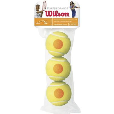 Wilson Starter Orange Tennis Balls Pack of 3