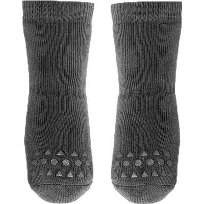 Go Baby Go Non Slip Socks Winter Cotton - Dark Grey