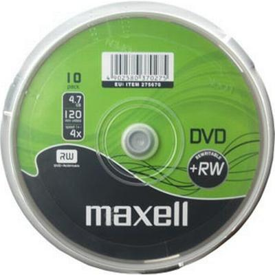 Maxell DVD+RW 4.7GB 4x Spindle 10-Pack