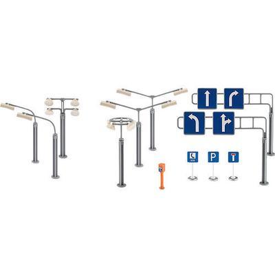 Siku Road Signs & Street Lamps 5594