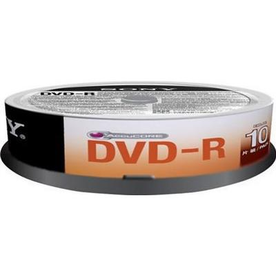 Sony DVD-R 4.7GB 4x Spindle 10-Pack