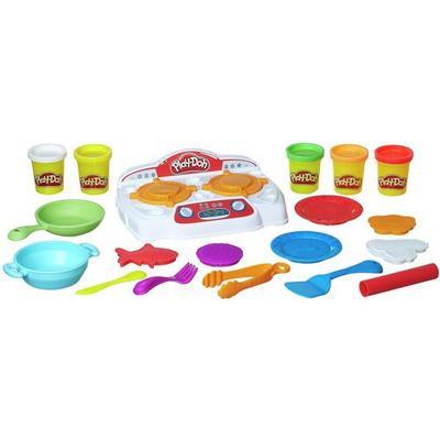 Hasbro Play-Doh Kitchen Creations Sizzlin Stovetop B9014