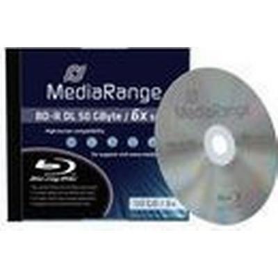 MediaRange BD-R 50GB 6x Jewelcase 1-Pack