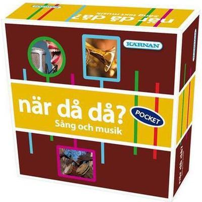 Kärnan När Då Då? Sång Och Musik (Svenska) Resespel