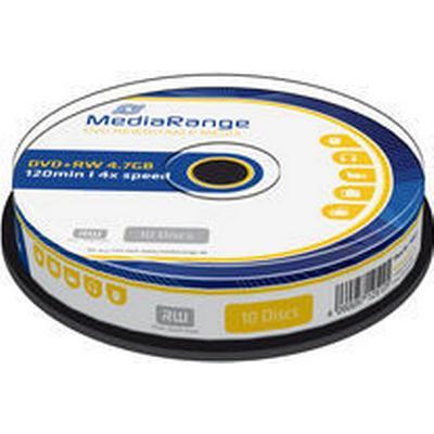 MediaRange DVD+RW 4.7GB 4x Spindle 10-Pack
