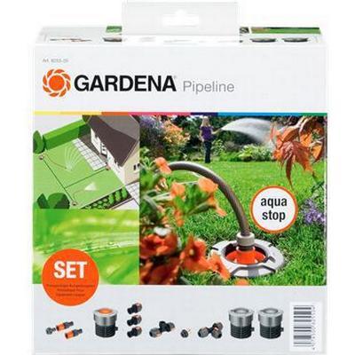 gardena garden pipeline starter set 3 4 female thread. Black Bedroom Furniture Sets. Home Design Ideas