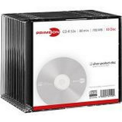 Primeon CD-R 700MB 52x Slimcase 10-Pack