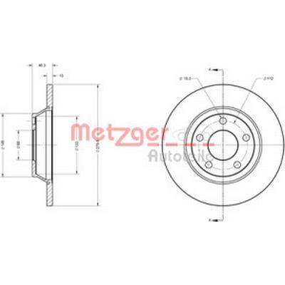 Metzger 6110242