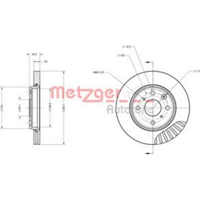 Metzger 6110059