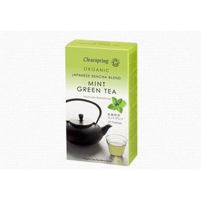 Clearspring Organic Mint Green Tea 20 Tea Bags