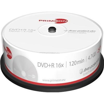 Primeon DVD+R Extra Protection 4.7GB 16x Spindle 25-Pack