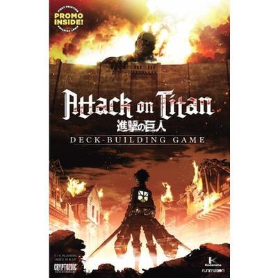 Cryptozoic Attack on Titan Deck Building Game (Engelska)
