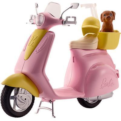 Mattel Barbie Scooter & Puppy