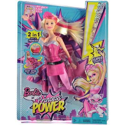 Mattel Barbie Kara in Princess Power Super Sparkle Doll