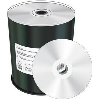 MediaRange CD-R Silver 700MB 52x Spindle 100-Pack Wide Inkjet