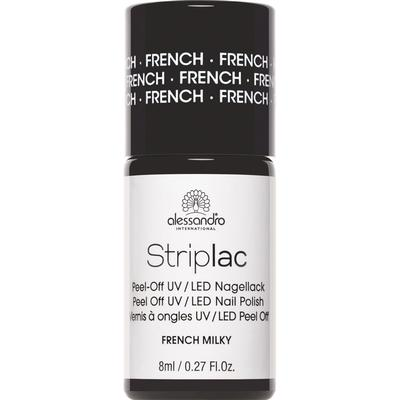 Alessandro Striplac Nail Polish French Milky 8ml