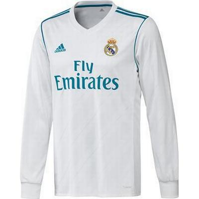 Adidas Real Madrid Home LS Jersey 17/18 Sr