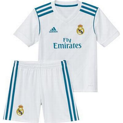 Adidas Real Madrid Home Jersey Kit 17/18. Youth