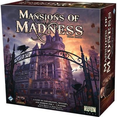 Fantasy Flight Games Arkham Horror: Mansions of Madness: Second Edition