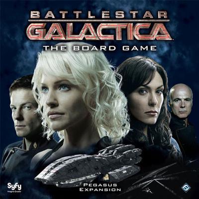 Fantasy Flight Games Battlestar Galactica Pegasus (Engelska)