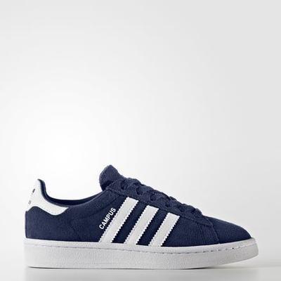 Adidas Campus Dark Blue/Footwear White/Footwear White (BY9593)
