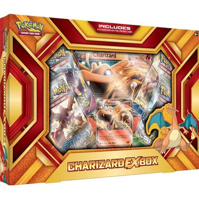 Pokémon Charizard-EX Fire Blast Box